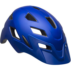 Bell Sidetrack casco per bici Bambino blu
